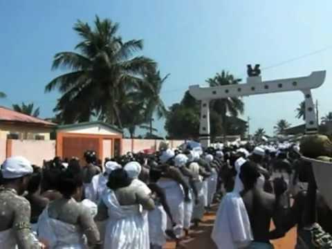 Festival Epe Ekpe at Glidji (Togo)