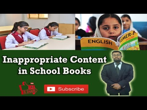 How new school books corrupting minds of children | Urdu/Hindi | PYSF/PYSWO