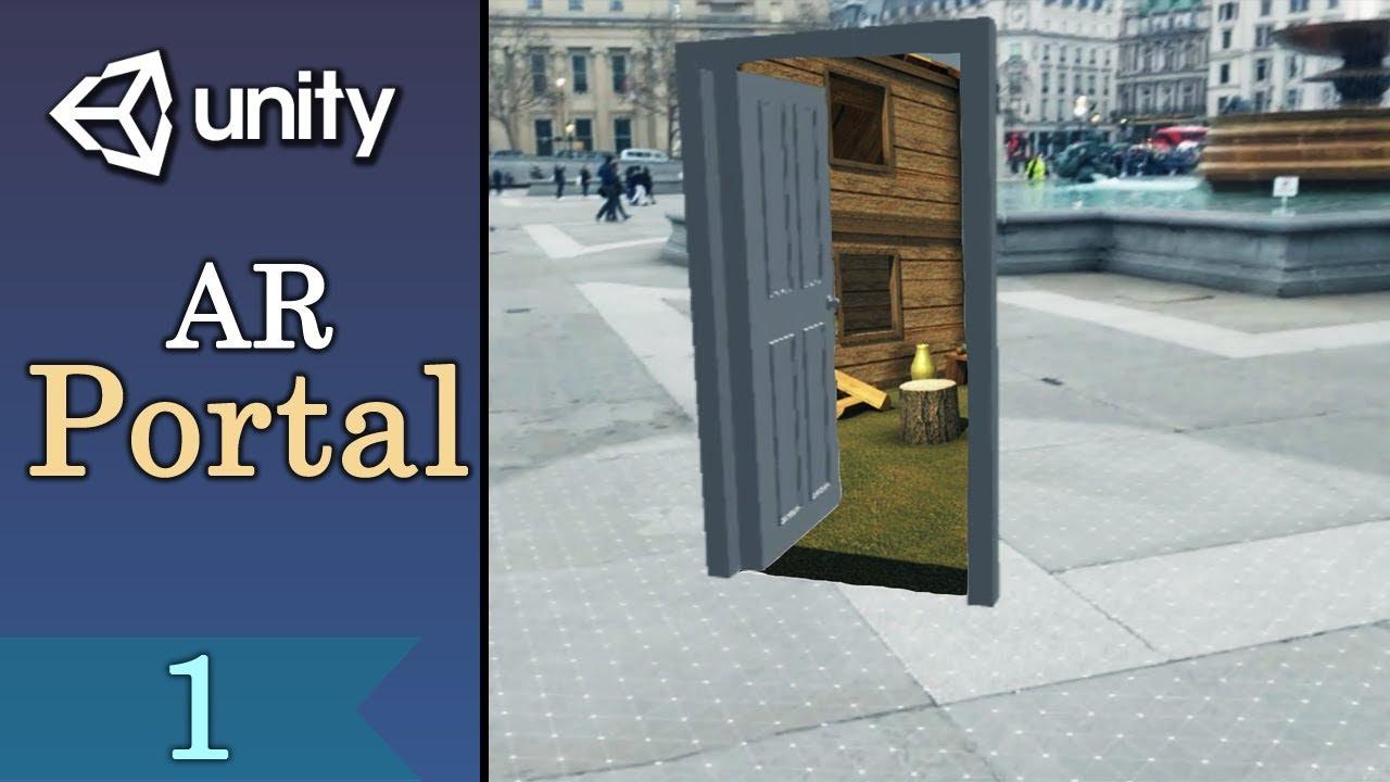 AR Portal Tutorial with Unity - ARCore Setup - Part1