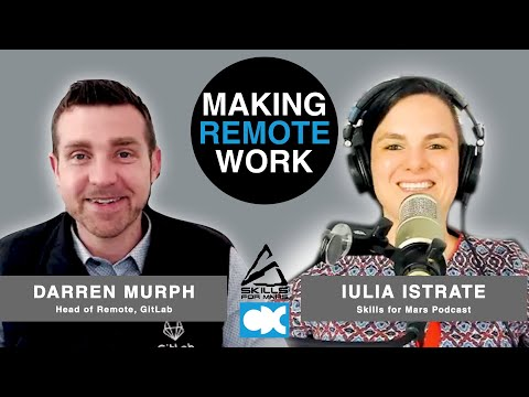 Making Remote Work #08 – Darren Murph (GitLab): On ...