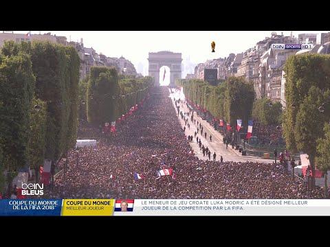 Suivez en direct le défilé des Bleus sur les Champs-Elysées !