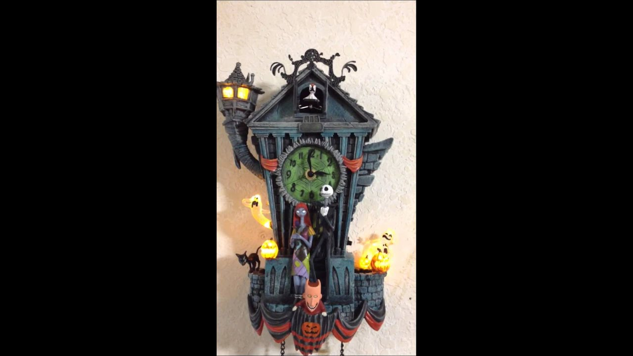 Nightmare cuckoo clock. - YouTube