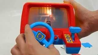 Видео обзор детская игрушка - Автотренажеры РУЛИ ТРЕКИ видео про машины для детей