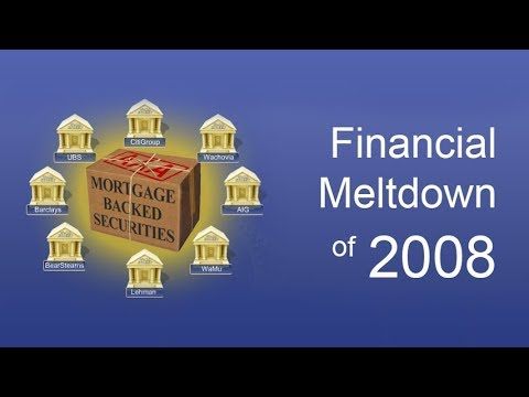 The Financial Meltdown of 2008: A Case Study