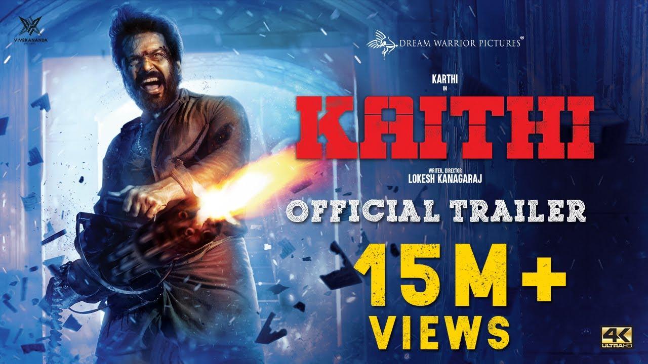 Kaithi - Official Trailer | Karthi | Lokesh Kanagaraj | Sam CS | S R Prabhu | 4K
