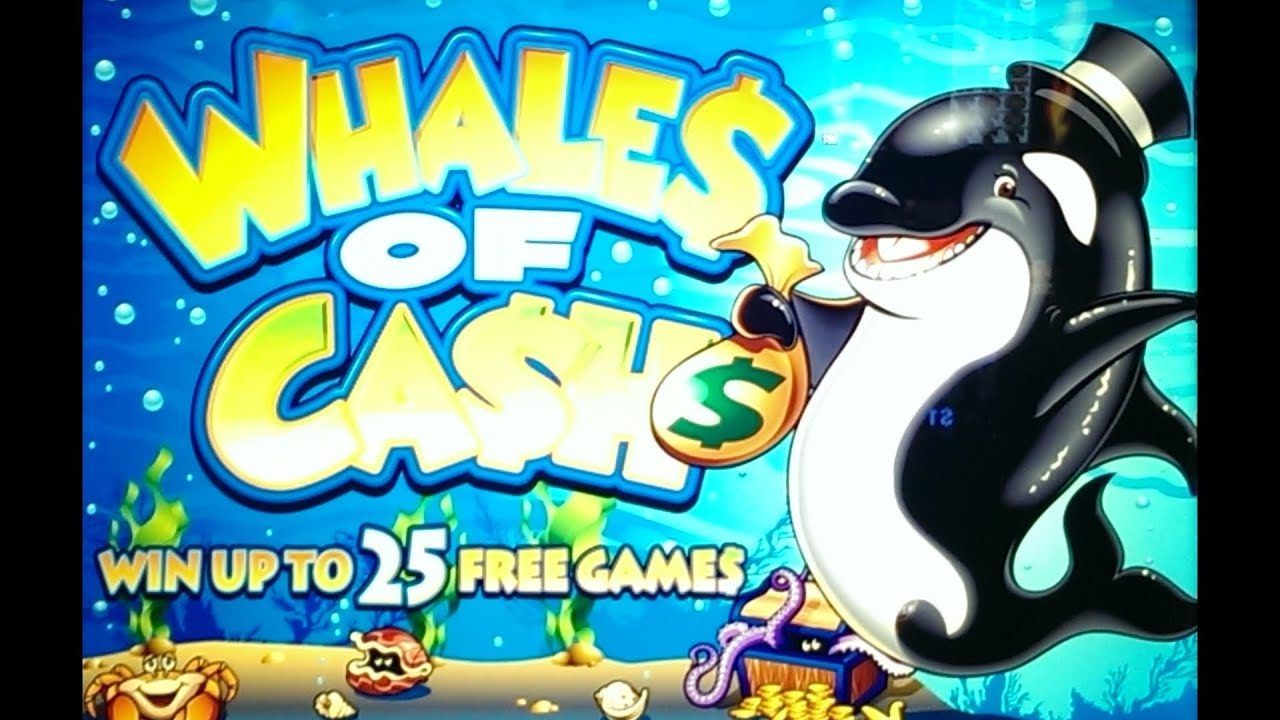 Whales of cash casino slot game paragon resort casino