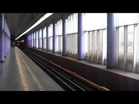 Metro Prag / Praha - Station Zličín Linka B