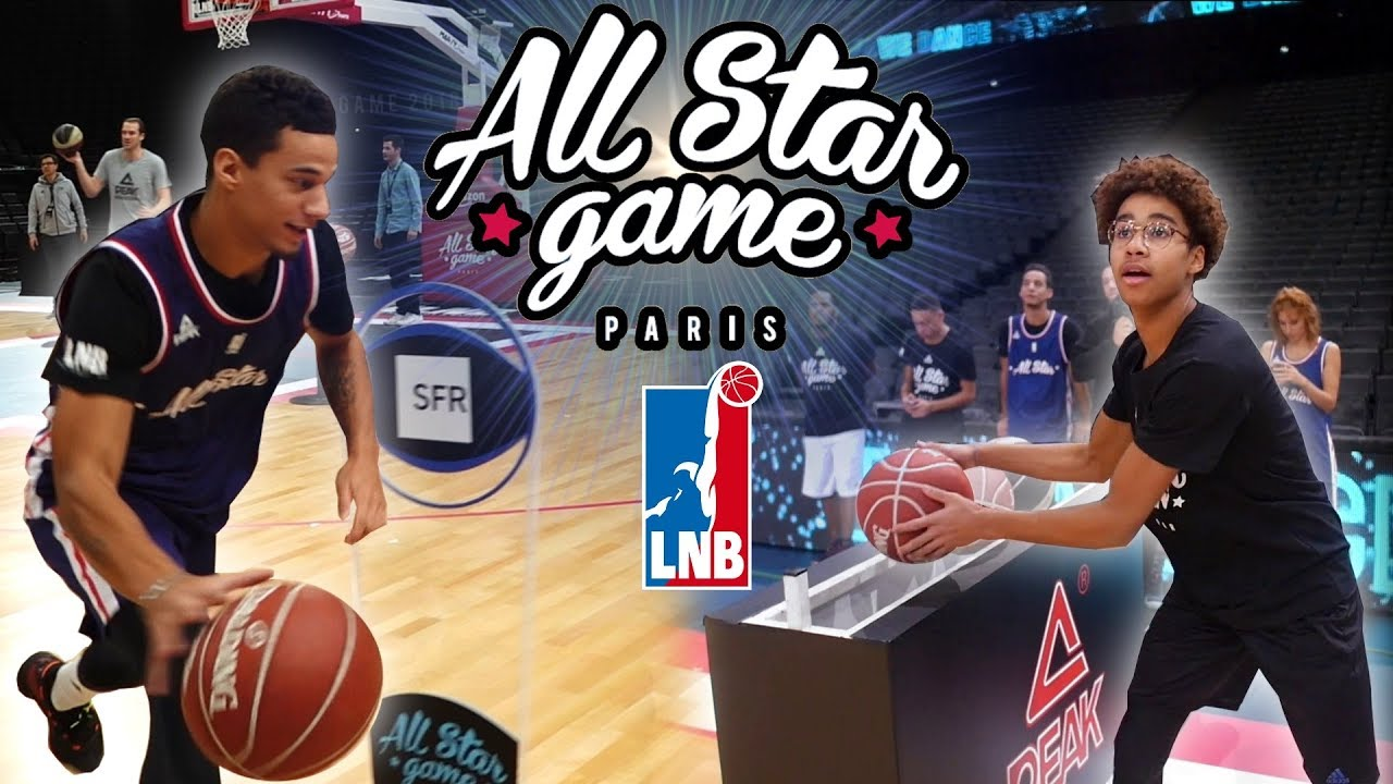 ON REFAIT LES CONCOURS DU ALL STAR GAME ! (DUNK, 3 PTS, SKILLS)