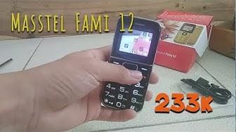 Mở Hộp Điện Thoại Cho Người Già Masstel FAMI 12 mua trên Shopee