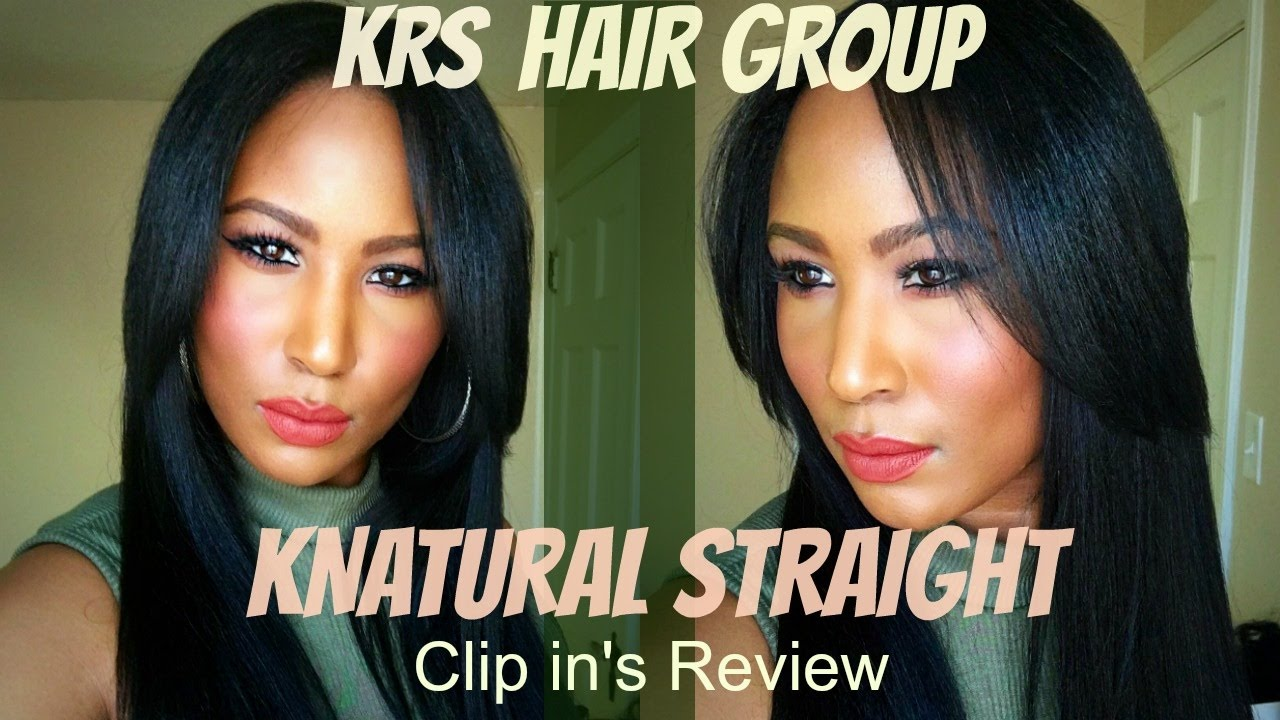 Krs Hair Group Knappy Hair Extensions Knatural Straight Clip Ins