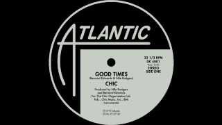 Chic - Good Times (full instrumental version) (1979)