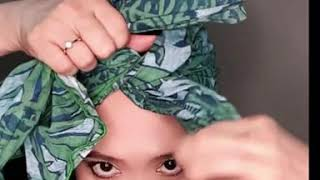 ALIA D WRAPS HEAD WRAP TUTORIAL