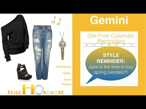 Style Horoscope 6: Gemini: Don't dismiss this style prediction