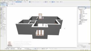 Как начертить план дома в архикаде - 9 - Дизайн дома в архикаде 09/26