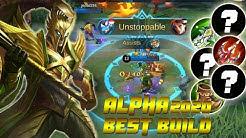 Alpha Unlimited Lifesteal Best Build Item 2020 - Top Mobile Legends