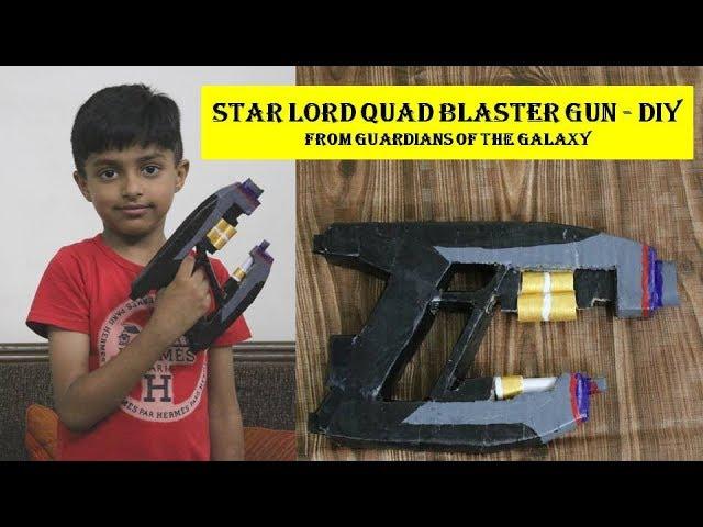 Pattern Guardians of the Galaxy Quad Blaster
