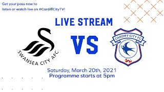 MATCHDAY LIVE | SWANSEA CITY vs CARDIFF CITY