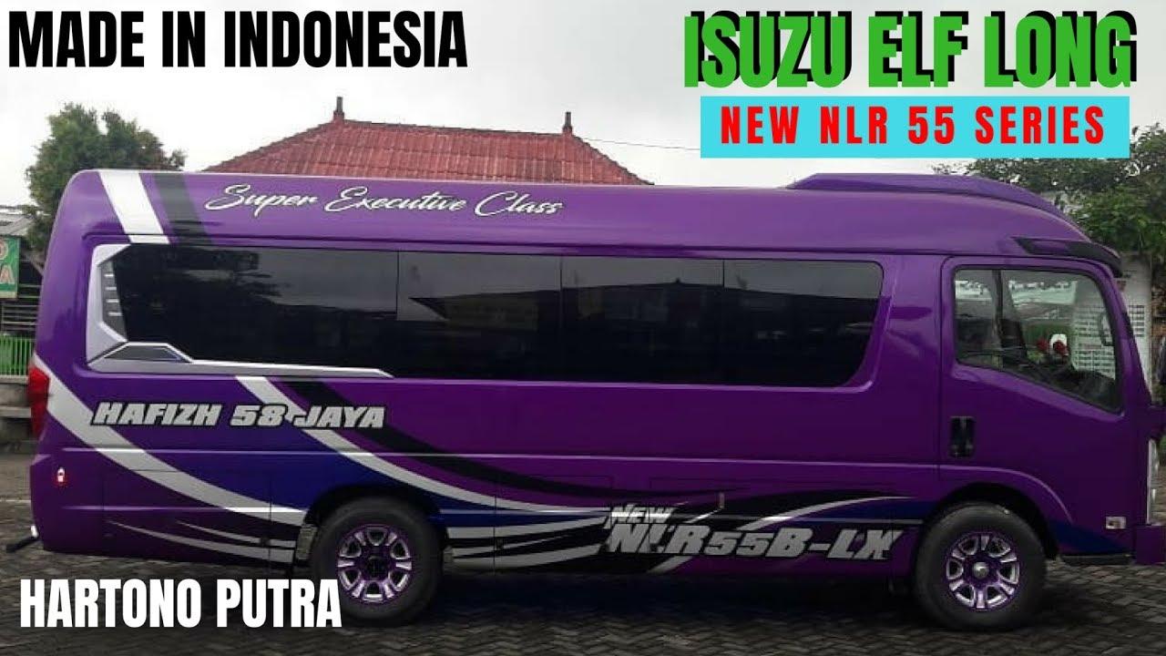 Microbus Isuzu Elf Long Nlr 55 Series Karoseri Hartono Putra
