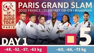 Judo Paris Grand Slam 2020: Day 1 - Tatami 5