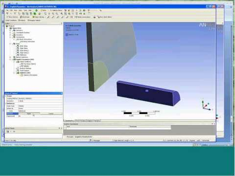 Getting Started with ANSYS Workbench Explicit Dynamics