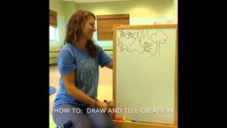 How To:  Draw And Tell Creation