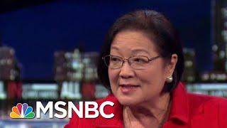 Sen. Hirono On The Lack Of Bipartisanship In Congress Amid Voting Rights Act Vote | All In | MSNBC