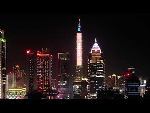 台北市【信義區夜景】空拍