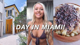 A DAY IN MY LIFE *miami vlog* (I moved!)
