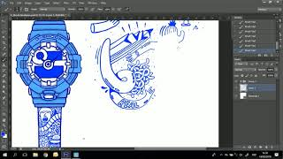 HUION Live Drawing by Addy Debil Using GT-221 Pro