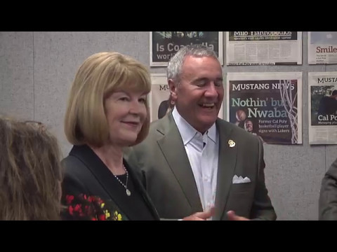 Bill & Cheryl Swanson Broadcast Studio Dedication
