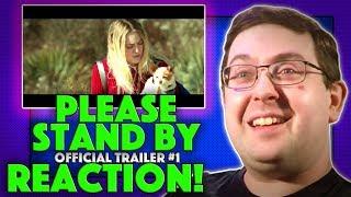 REACTION! Please Stand By Trailer #1 - Dakota Fanning Movie 2018