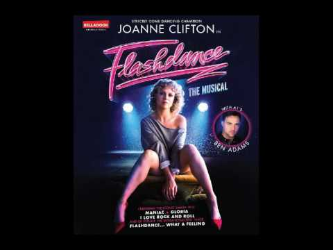 Joanne Clifton's radio interview discussing Flashdance on 5th July 2017