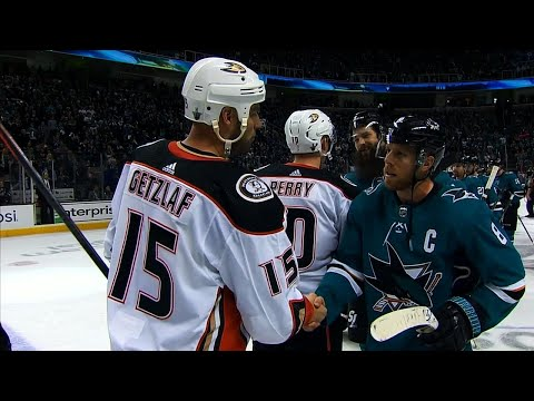 Sharks, Ducks shake fins, wings after series sweep