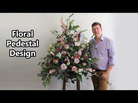 How To Make A Pedestal Arrangement