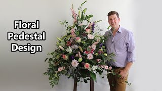How To Make A Pedestal Arrangement