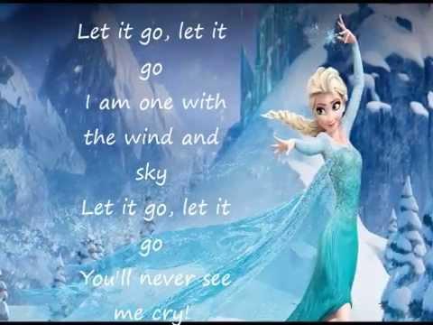 frozen let it go lyrics - YouTube