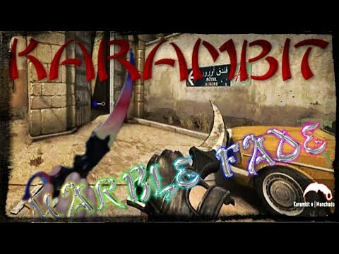 KARAMBIT MARBLE FADE REAL (CSGO) - DUST 2 SOY NOOB (Competitivo)