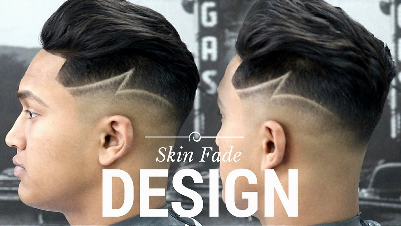 Haircut Tutorial Skin Fade With A Design Youtube
