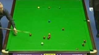 Paul Hunter 127 break  against Ronnie O