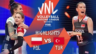POL vs. TUR - Highlights Week 1  Womens VNL 2021