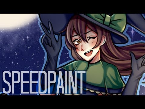 Happy Halloween!「Paint Tool Sai Speedpaint」
