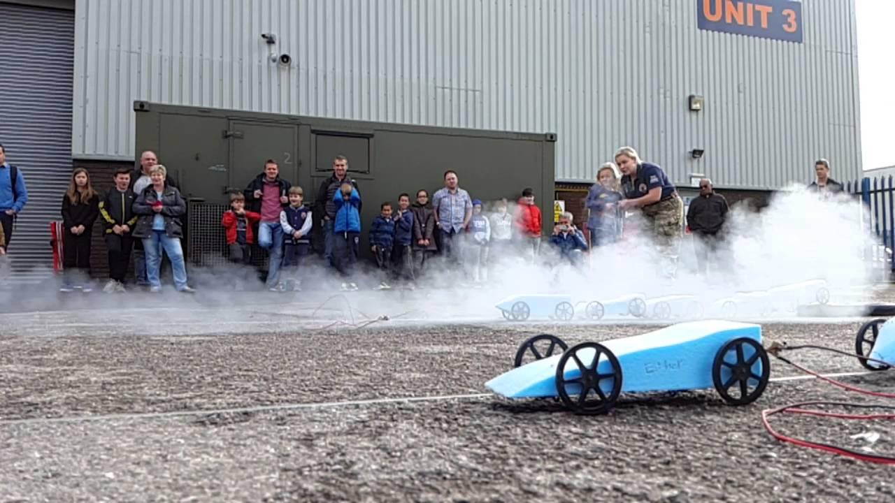 Bloodhound Ssc Model Rocket Car Challenge