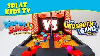 Superzings Series 2 vs Grossery Gang Time Wars