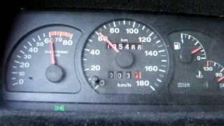 Fiat Cinquecento 1.2 16V - przyspieszenie