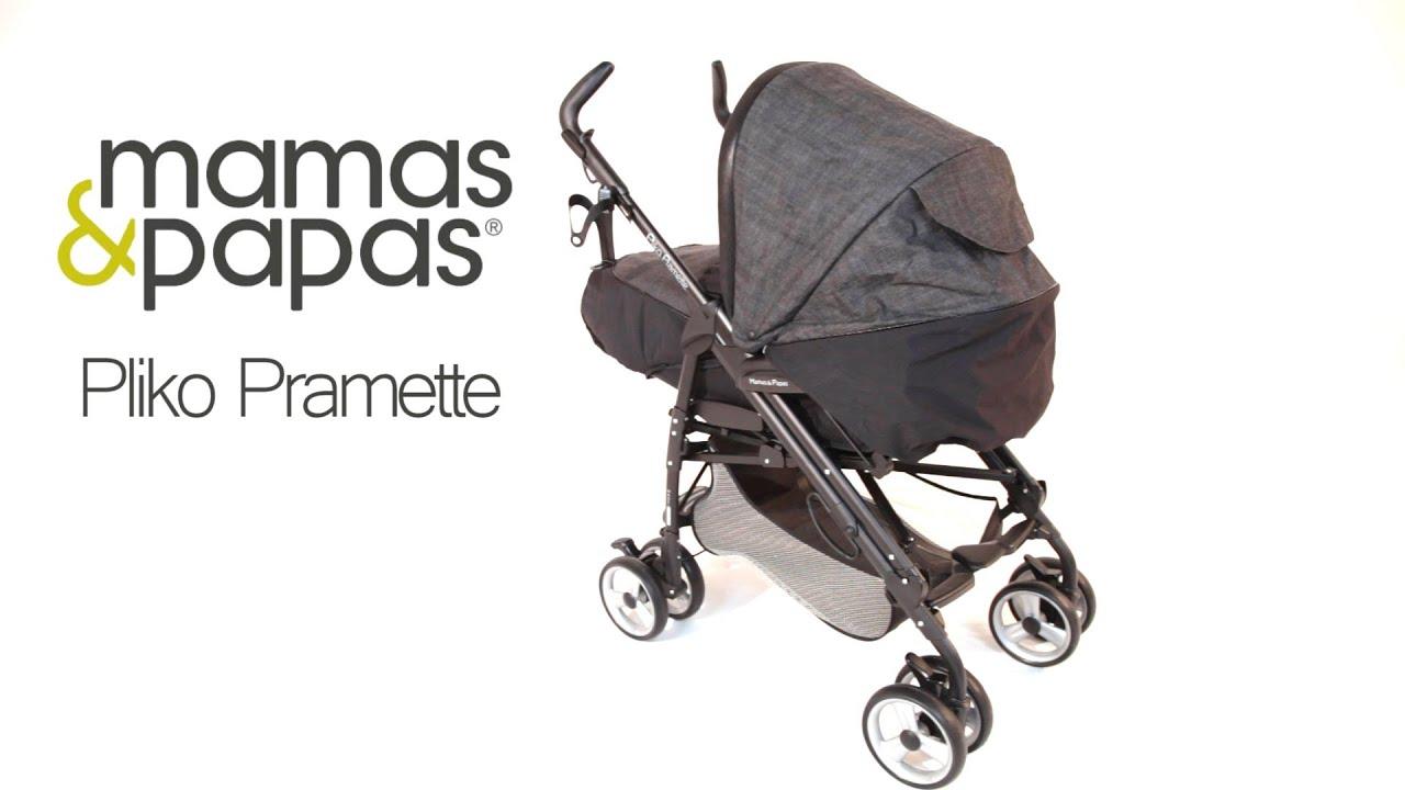 Mamas & Papas Pliko Pramette - YouTube