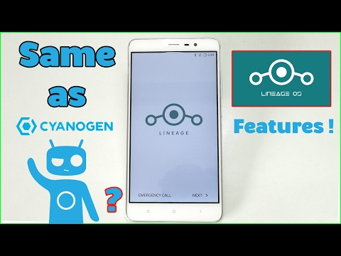 Official Lineage OS- Features & How to Install Guide! Same as CyanogenMod 14.1?