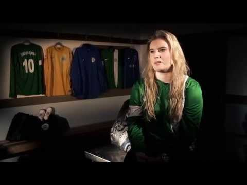 Katy Melhuish on womens football in Guernsey