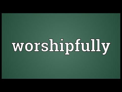 Header of worshipfully