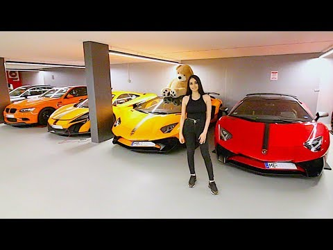 Meet the Billionaire of Germany and His PRIVATE CAR COLLECTION !!!