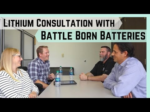 Lithium Battery Consultation with Battle Born Batteries || Deep Dive into Powering a 50amp RV